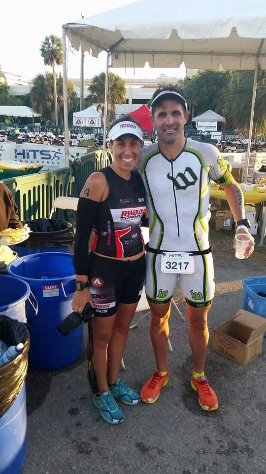 Our first race together was a great experience...HAPPY!!!